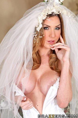 Невеста в последний раз хочет попробовать чужой хуй